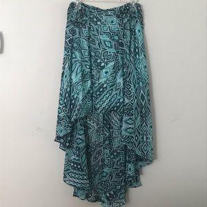 New York & Company high/low asymmetric skirt - M
